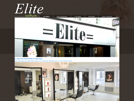 Le salon de coiffure Elite à Cherbourg - Elite...