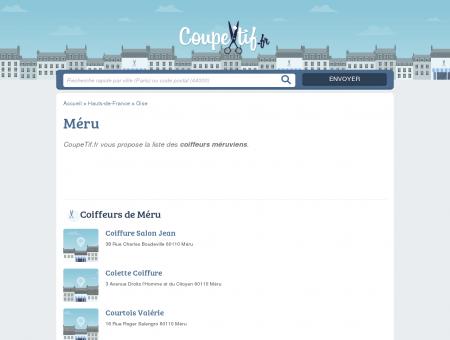 COIFFEURS MÉRU - SALONS DE COIFFURE...