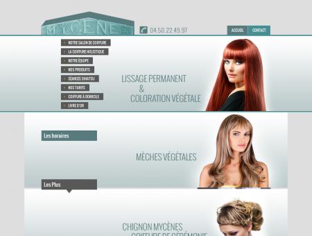 Mycènes Coiffure | Salon de coiffure à Thorens...