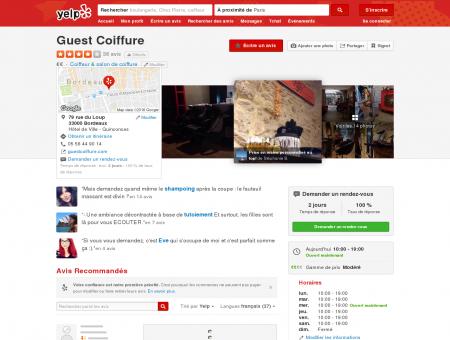 Guest Coiffure - 14 Photos - Coiffeur & salon...