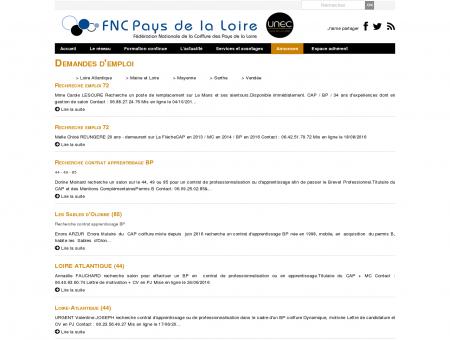 FNC Pays de la Loire Loire, urc, URC, union...