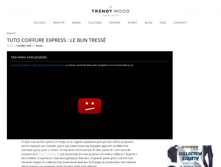 Tuto Coiffure Express : le bun tressé | Trendy...