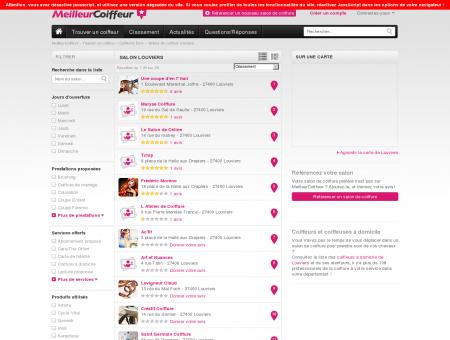 Coiffeurs Louviers - Guide des meilleurs salons...