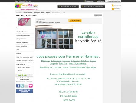 Marybella : Salon à Caen, 145 rue de Falaise -...