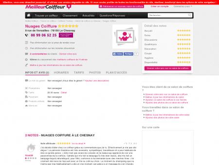 Nuages Coiffure Le Chesnay - Avis, Tarifs,...