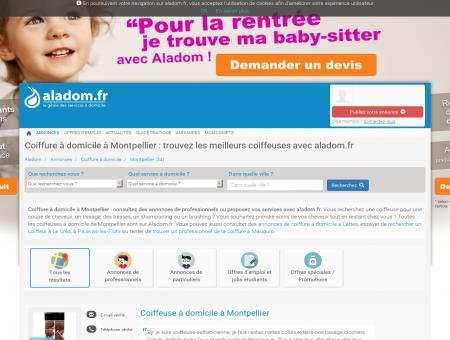 COIFFURE À DOMICILE MONTPELLIER (34) -...