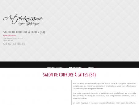 Coupe de cheveux Lattes - ART SERENISSIME :...