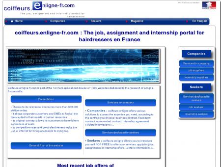 coiffeurs.enligne-fr.com : Le portail emplois,...