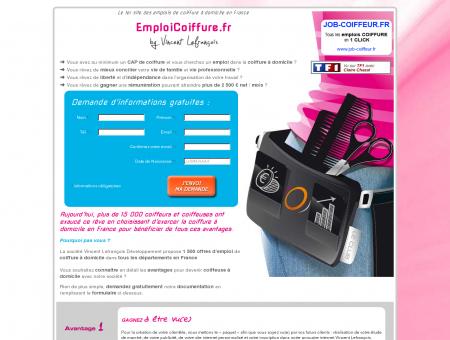 Emploi Coiffure à Domicile - 1500 offres...