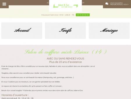 Coiffeur Calvados - ADAM & EVE : coiffure...