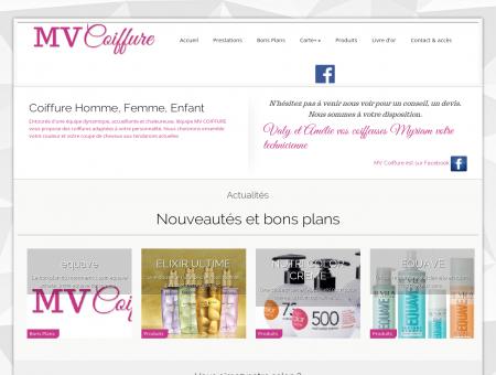MV Coiffure - Visagiste - Salon de coiffure -...