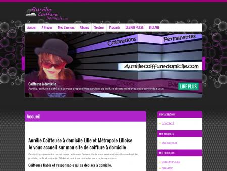 Aurélie Coiffure Domicile Lille / Coiffeuse,...