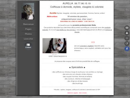Aurélia coiffure 49, coiffeuse domicile Trélazé...