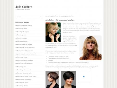 Julie Coiffure à domicile Flers et ses alentours