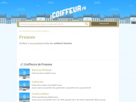 Coiffeurs Fresnes - Salons de coiffure 94260