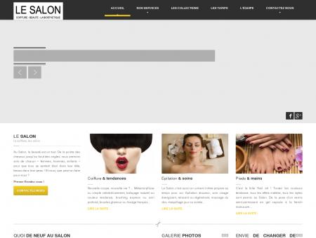 Accueil - Le Salon coiffure