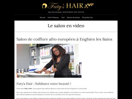 Salon de coiffure afro européen à Enghien les...