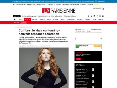 Coiffure : le «hair contouring», nouvelle...