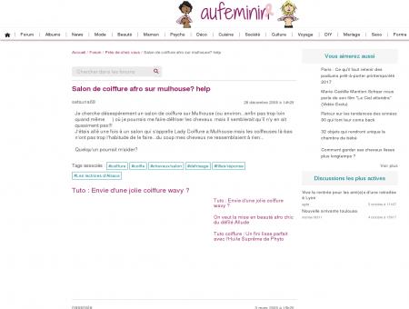 Salon de coiffure afro sur mulhouse help :...