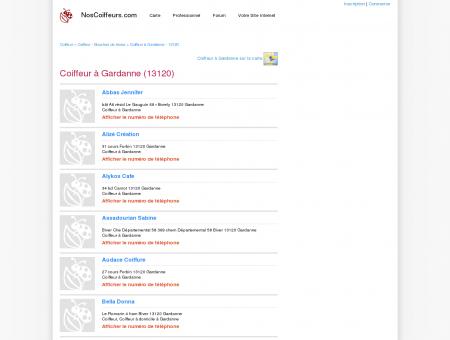 Coiffeur Gardanne - 13120 - Avis coiffeurs à...