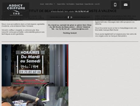 ADDICT Coiffure, Valence - Espace esthétique...