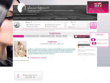 COIFF'STYLE : COIFFEUSE DOMICILE LA...