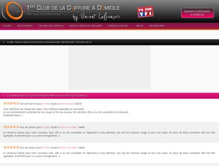 1er Club de la Coiffure à Domicile By Vincent...