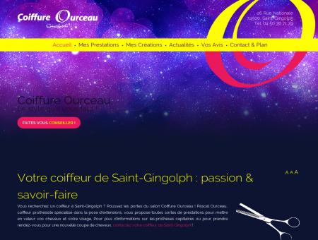 Coiffure Ourceau, - Prothèse capillaire Saint...