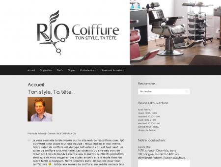 RJO Coiffure - Salon de coiffure à Longueuil et...