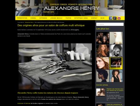 Salon de coiffure afro antillais & afro américain...