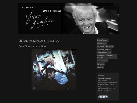 HOME CONCEPT COIFFURE - yvesgamba.com ...
