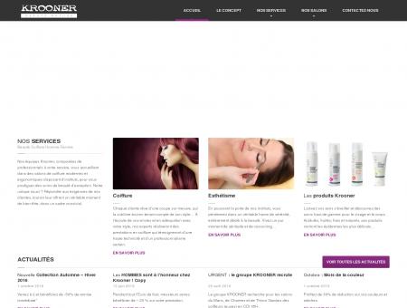 KROONER : Salons de coiffure & Instituts de beauté