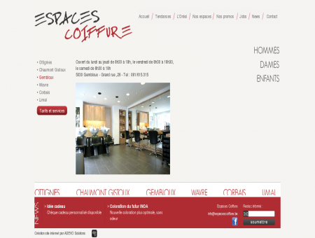 Espaces Coiffure