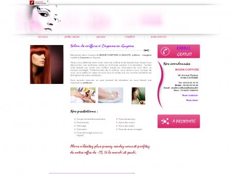 Salon de coiffure Cayenne - MODIN...
