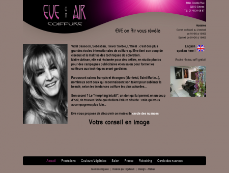 Eve On Air - Accueil