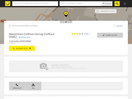 Saint Karl Coiffures Cernay Coiffure Cernay...