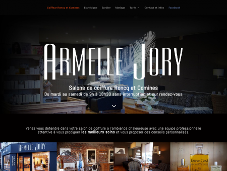Armelle JORY - Salons de coiffure Roncq et...