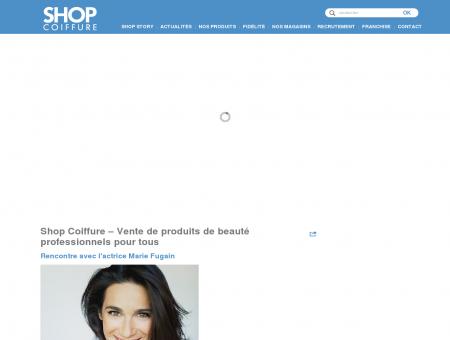 Shop Coiffure  Vente de produits de beauté ...