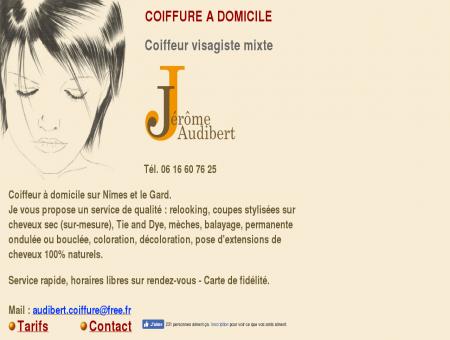 Jérôme Audibert Coiffure à domicile sur Nîmes...