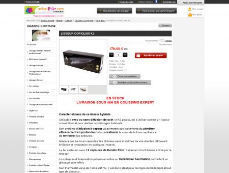 Corioliss K3 - CEZARD COIFFURE - Magasin et...