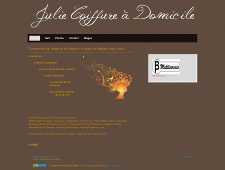 Accueil - Julie Coiffure à Domicile - Provins et...