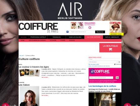 Culture Coiffure - Histoires et retrospective...