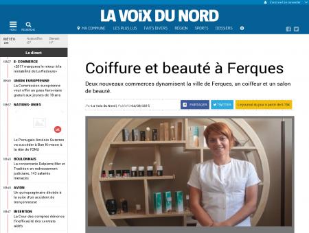 Coiffure et beauté à Ferques - La Voix du Nord
