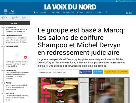 Le groupe est basé à Marcq : les salons de...