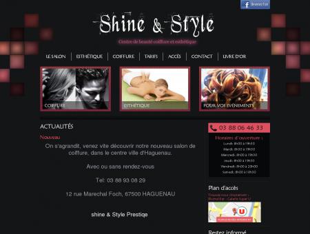 Shine & Style : Centre de beauté coiffure et...