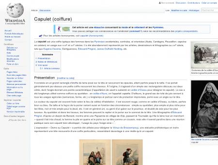 Capulet (coiffure)  Wikipédia