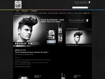 Taft Absolu'Fix, coiffure extrême en spray :...