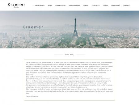 Nos salons - Kraemer Coiffure Paris