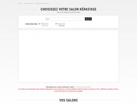 Salon de coiffure professionnel paris - Kérastase