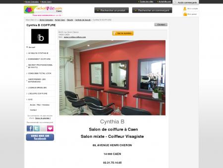 Cynthia B. Coiffure à Caen : Coiffeur visagiste ...